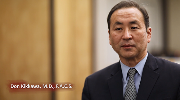 Video preview of Dr. Kikkawa, an oculoplastic surgeon, speaking about TED